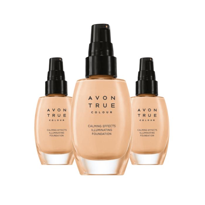 Calming effects Fond de teint apaisant Soin éclat 30ml Almond