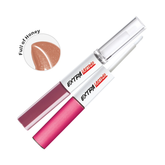 Extra Lasting Plump & Stay Rouge à lèvres. Longue durée 8ml  Full of Honey