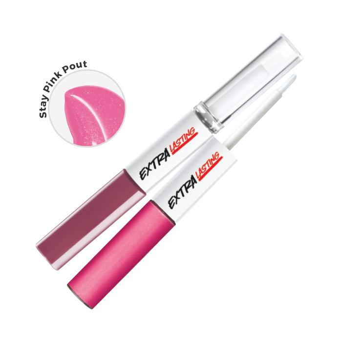 Extra Lasting Plump & Stay Rouge à lèvres. Longue durée 8ml Stay Pink Pout