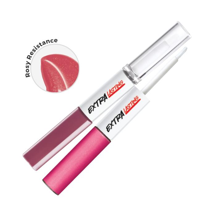 Extra Lasting Plump & Stay Rouge à lèvres. Longue durée 8ml Rosy Resistance