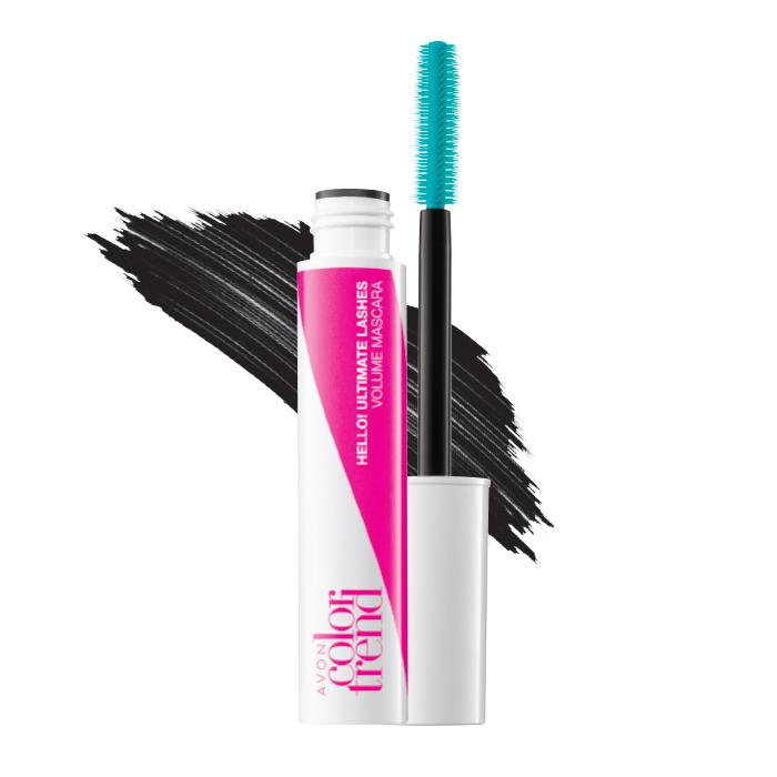 Hello! Colour Ultimate Lashes Volume Mascara 10ml Noir