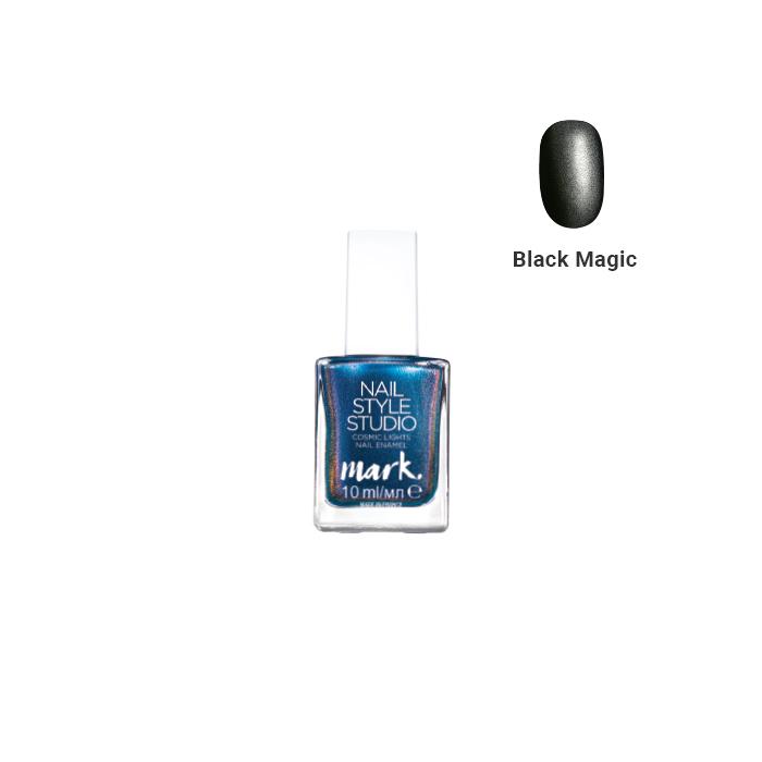 nail Style Studio Cosmic Lights Vernis à Ongles 10ml Black Magic