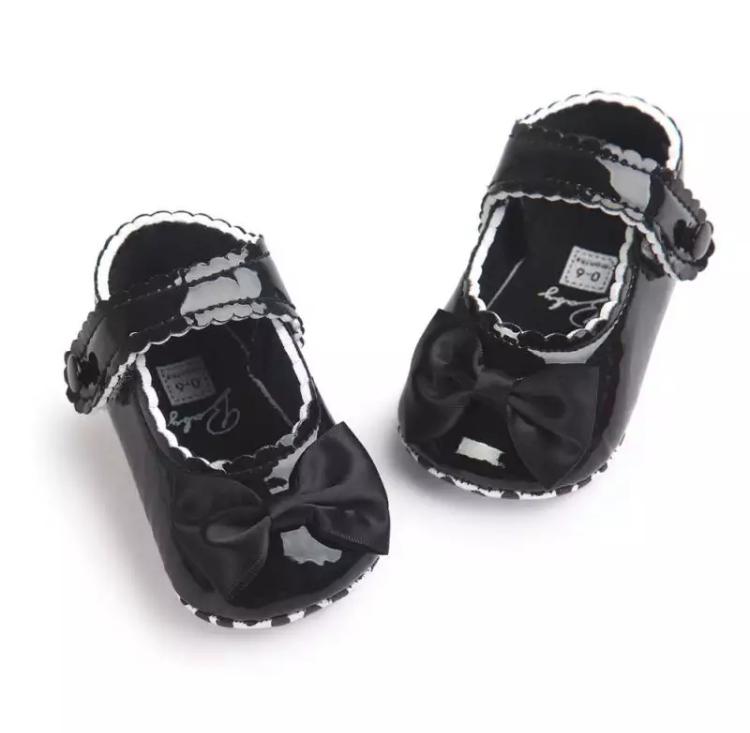 Chaussures Angela, Noir, 0-6 Mois