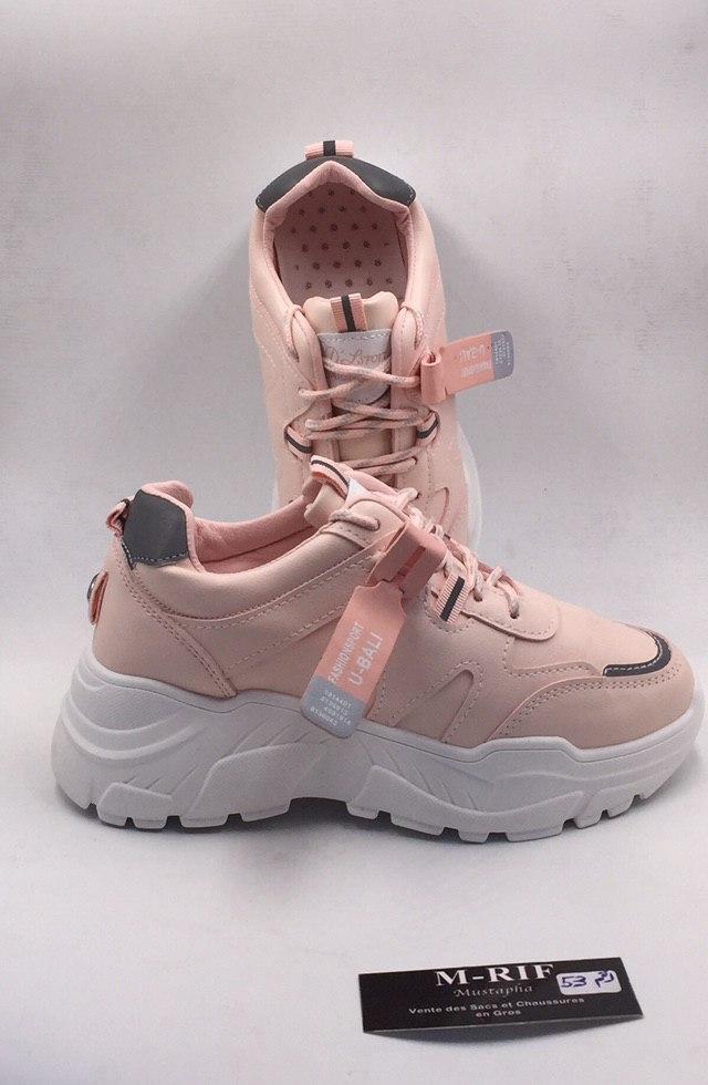 Chaussure de sport Baseline, Rose