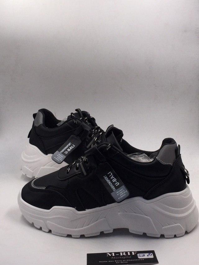 Chaussure de sport Baseline, Noir