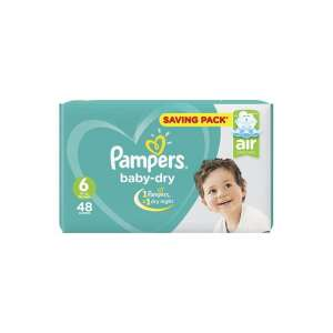 Pampers baby-dry taille 6, 48 unités