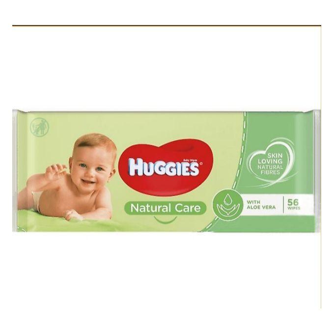 Lingettes Huggies Natural Care