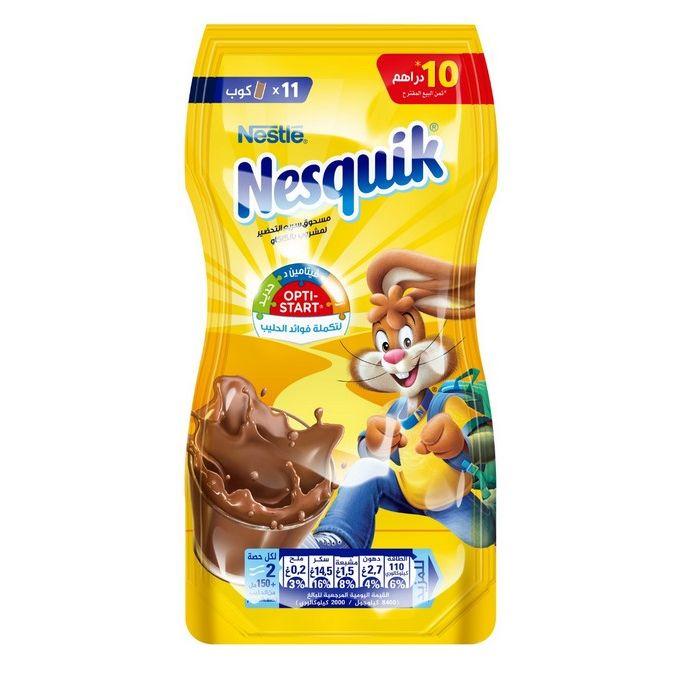 Nestle Nesquik poudre Instantanée cacaotée paquet de 110g