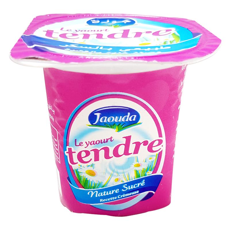 Le Yaourt Tendre Nature Sucre Jaouda 110 G
