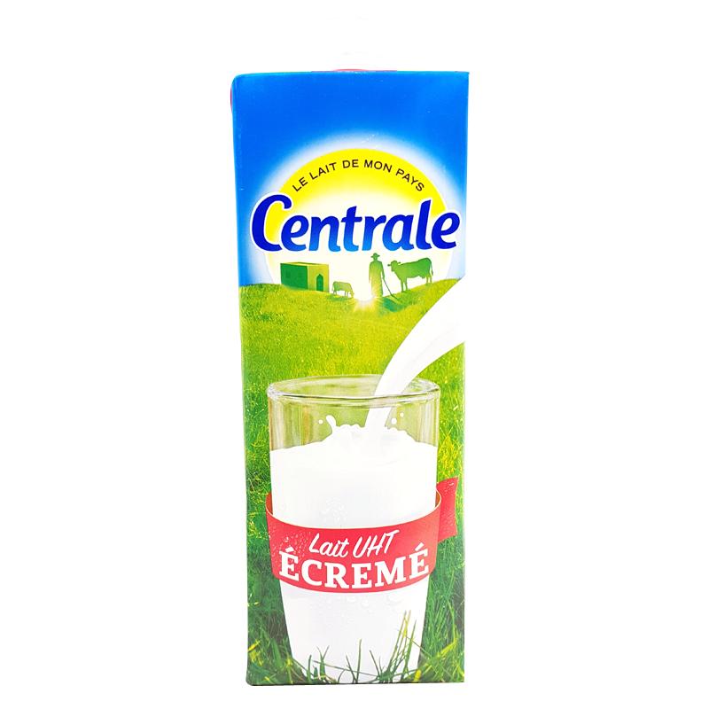 Lait Uht Ecrémé Centrale Laitière 1l