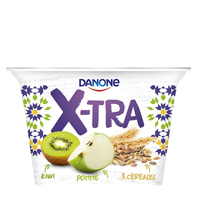 Danone X-TRA, Pomme kiwi, 200g