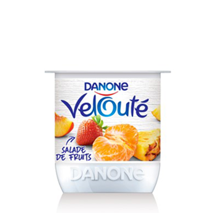 Danone velouté, Salade de fruits, 110g