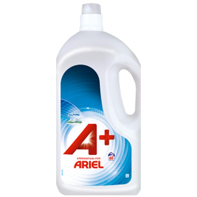 65 Lavages Concentré + Efficace Ariel A+ 3,25L