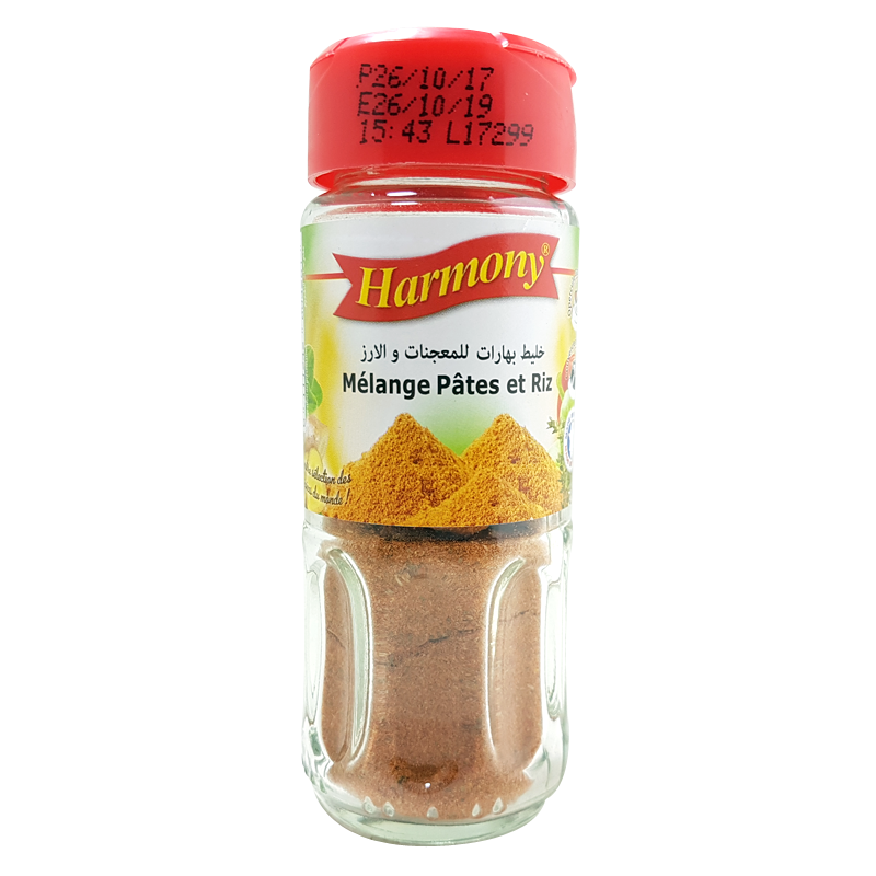 Mélange Epices pour Pâtes et Riz Harmony 30g