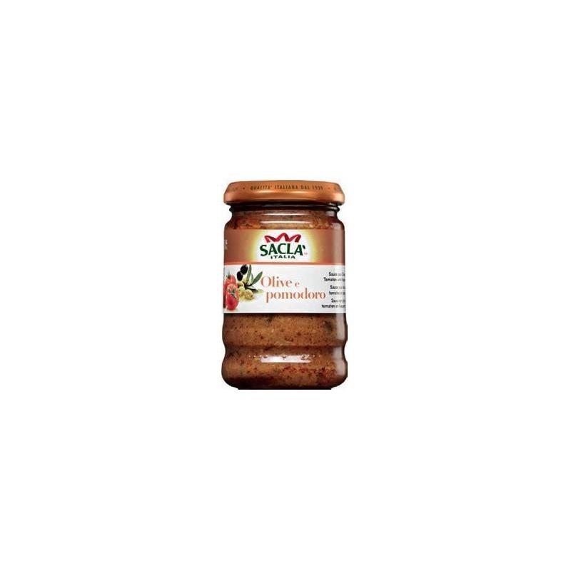 Sauce aux Tomates Séchées et Ail Sacla 190g