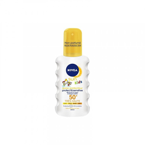 Sun Kids Spray Protecteur Protect et Sensitive NIVEA 50+ 200 ml
