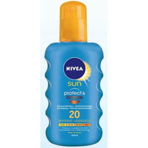 Sun Protect & Bronze SPF 20+ Nivea 200ml