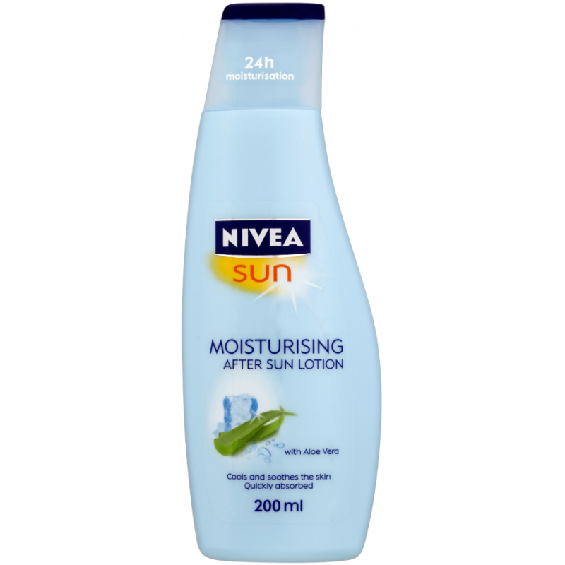 Lait Après-Soleil Hydratant à l'Aloé Vera Nivea Sun 200ml