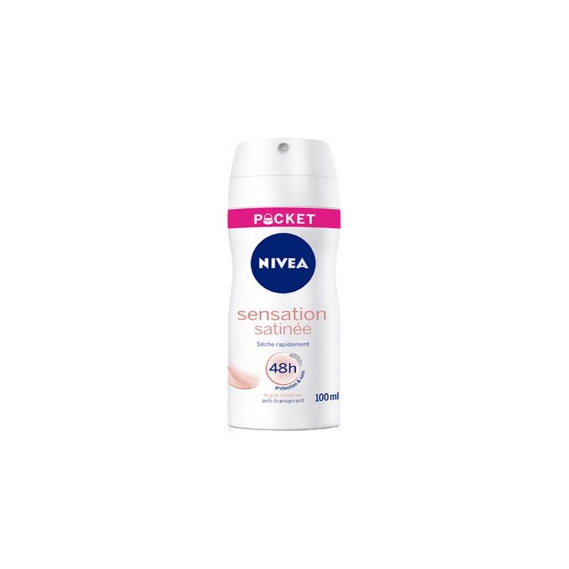 Déodorant BodySpray Pocket Sensation Satinée Nivea 100ml