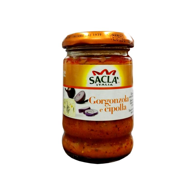 Sauce au Fromage Gorgonzola et aux Oignons Rouges Sacla 190g