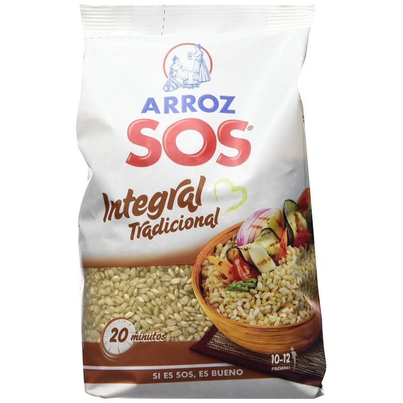 Riz Intégral Traditionnel SOS 1kg