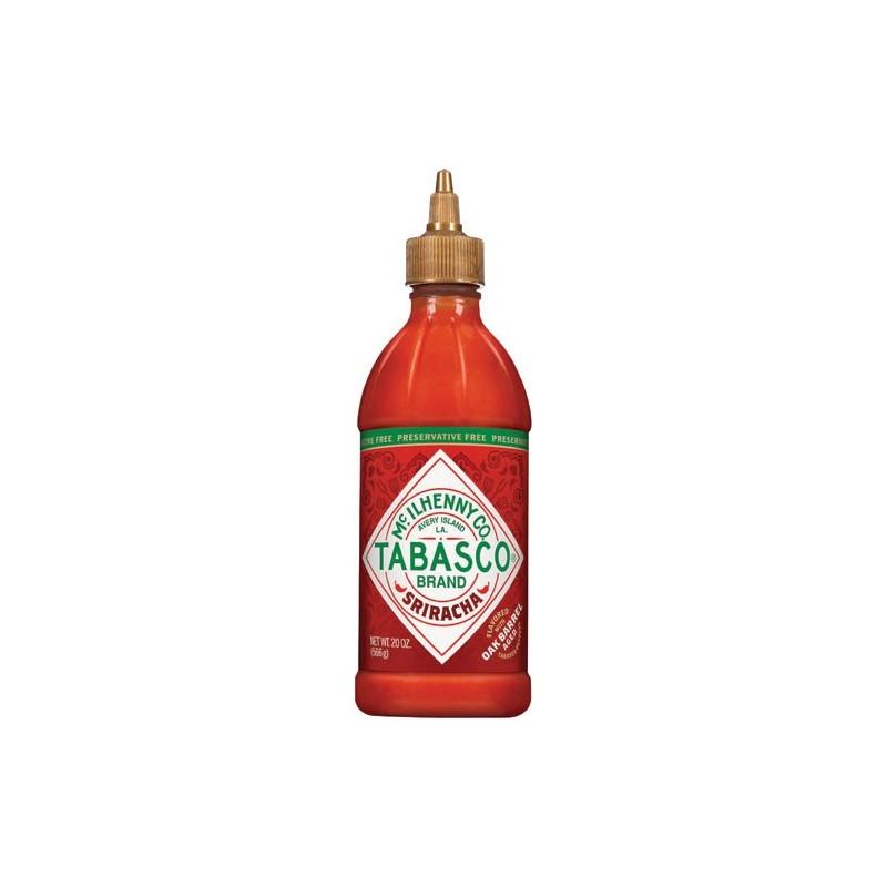Sauce Piment Rouge Sriracha Tabasco 556g