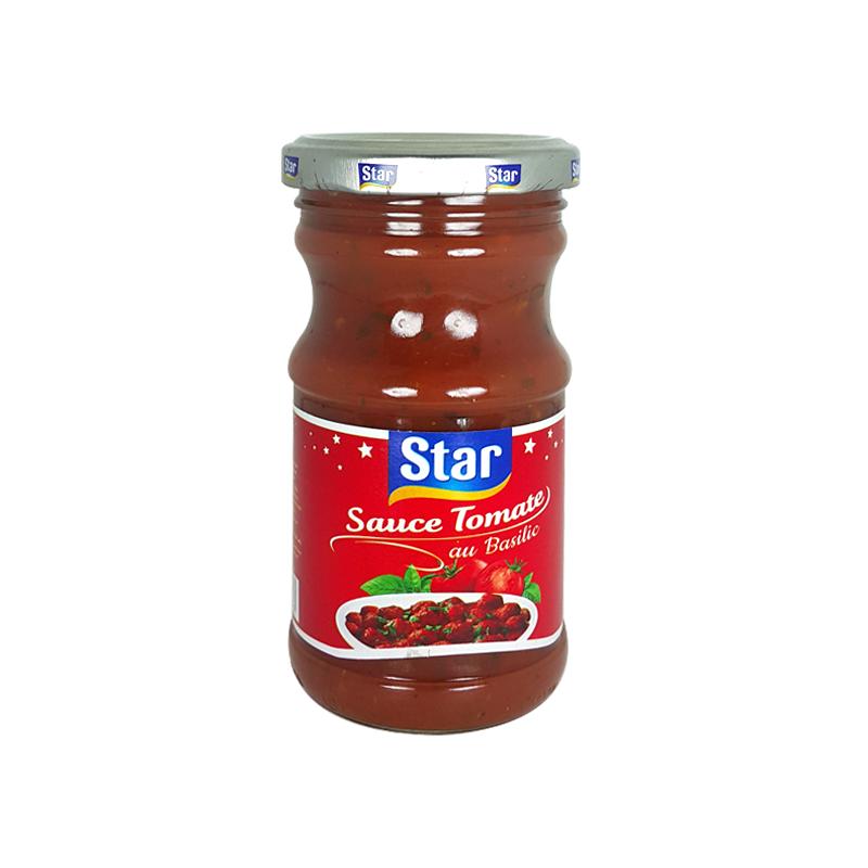 Sauce Tomate au Basilic Star 200g