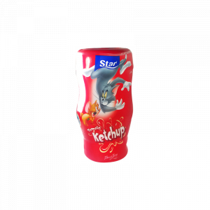 Ketchup Tom & Jerry Star 300ml