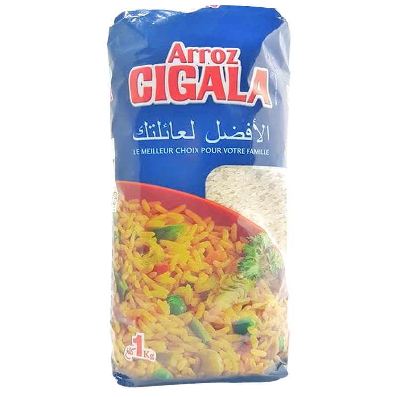 Riz Long Blanchi Cigala 1kg