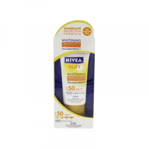 Whitening Immediate sun protection SPF 50+ Nivea 50ml