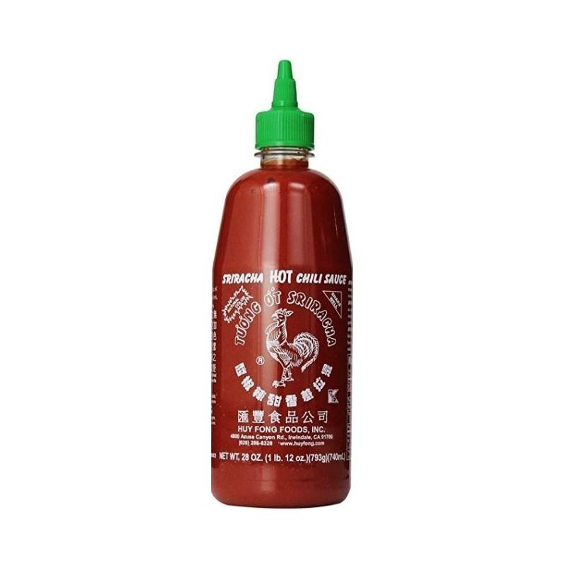 Sriracha Sauce Chaude Huy Fong 740 Ml