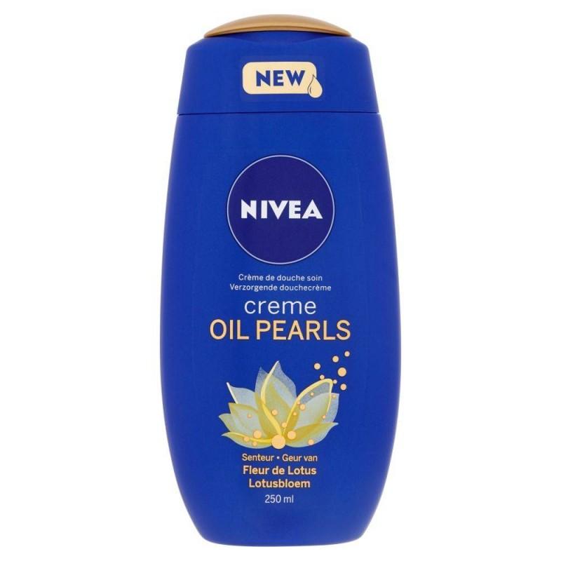 Nivea Creme oil pearls, Fleur de lotus, 250 ml