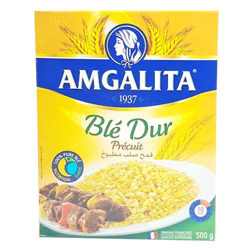 Blé Dur Précuit Amgalita 500g