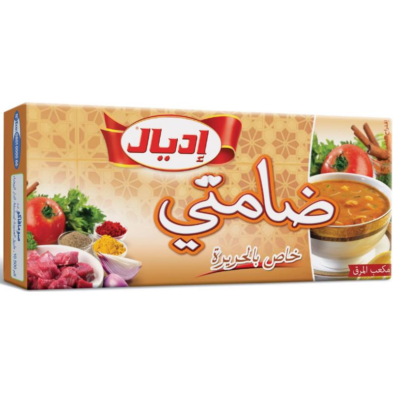 8 Bouillons Harira Ideal 76g