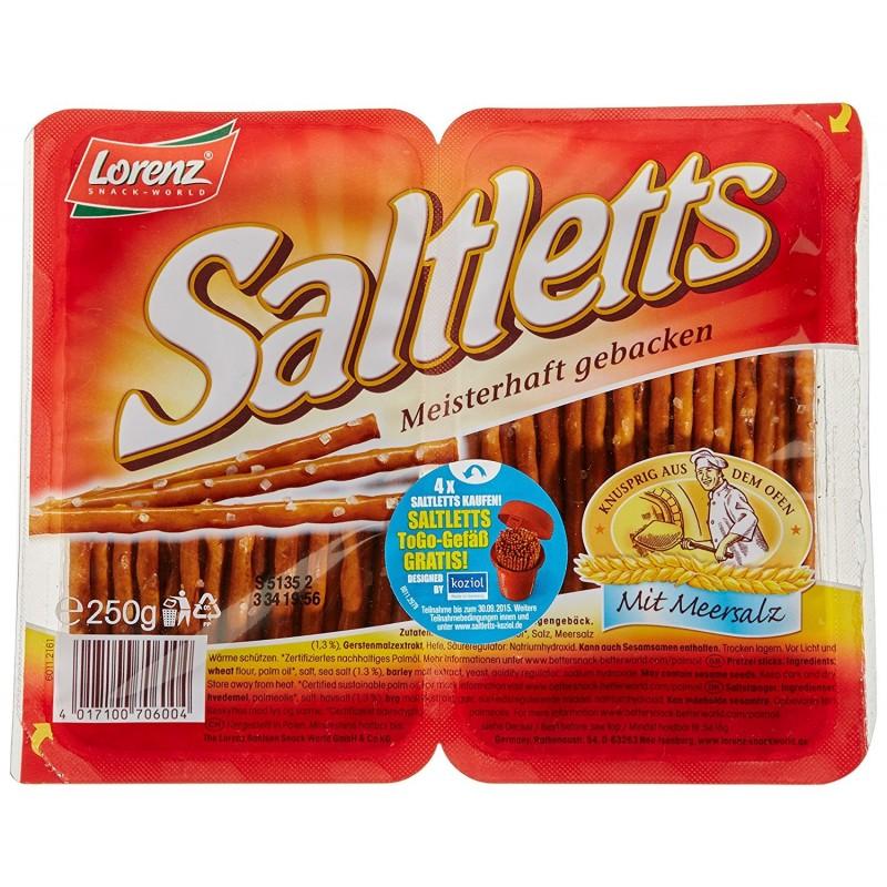 Bâtons Snack Saltletts Lorenz 250g