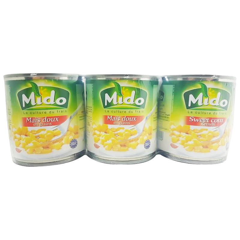 Champignons Coupés Mido 200g*3