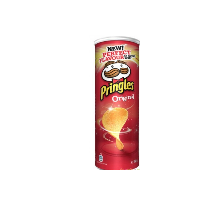 Chips Pringles divers variantes 165g