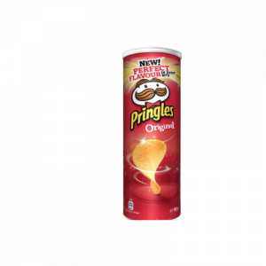 Chips Pringles divers variantes 165g