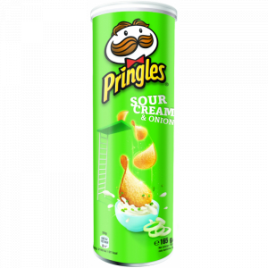 Chips Sour Cream & Onion Pringles 165g