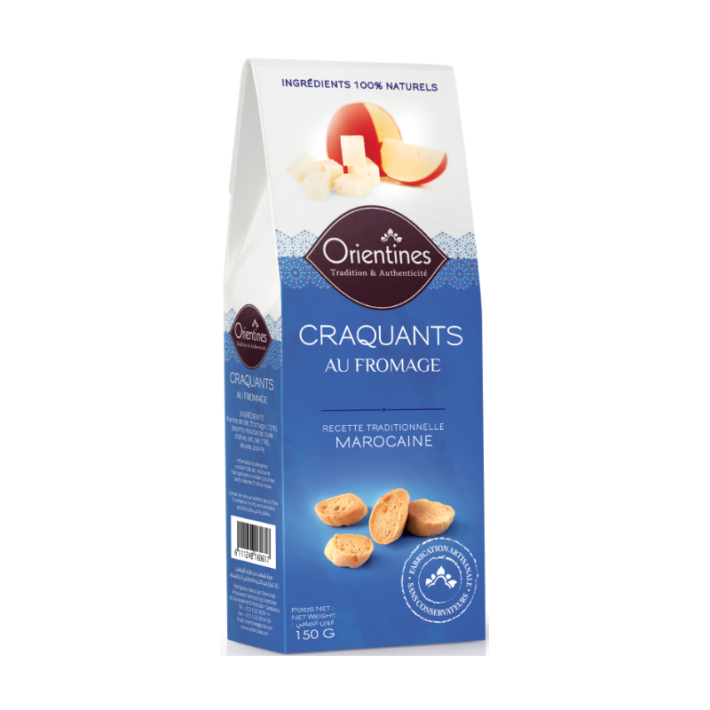 Craquants Au Fromage Orientines 150g