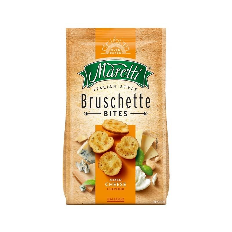 Bouchées de Pain Saveur 4 Fromages Bruschette Maretti 70g