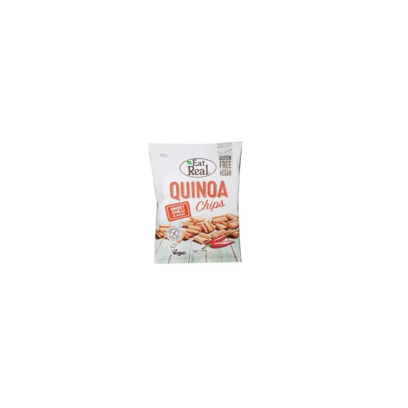 Chips Sweet Chilli Quinoa Sans Gluten Eat Real 30g