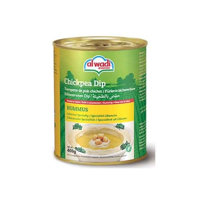 Hummus Trempette de pois chiches 180g Al Wadi