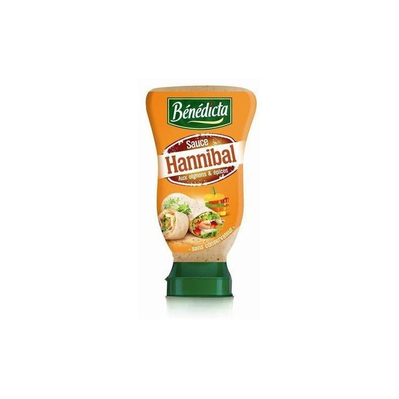 Sauce Hannibal Benedicta 245 G