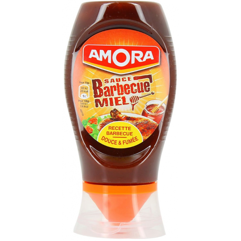 Sauce Barbecue Au Miel Amora 282g