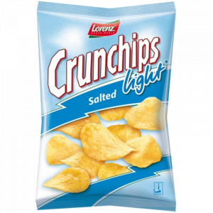 Chips Salé Light Crunchips 90g
