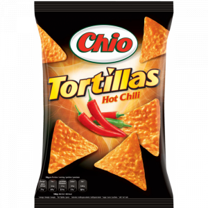 Tortillas Hot Chili Chio 125g