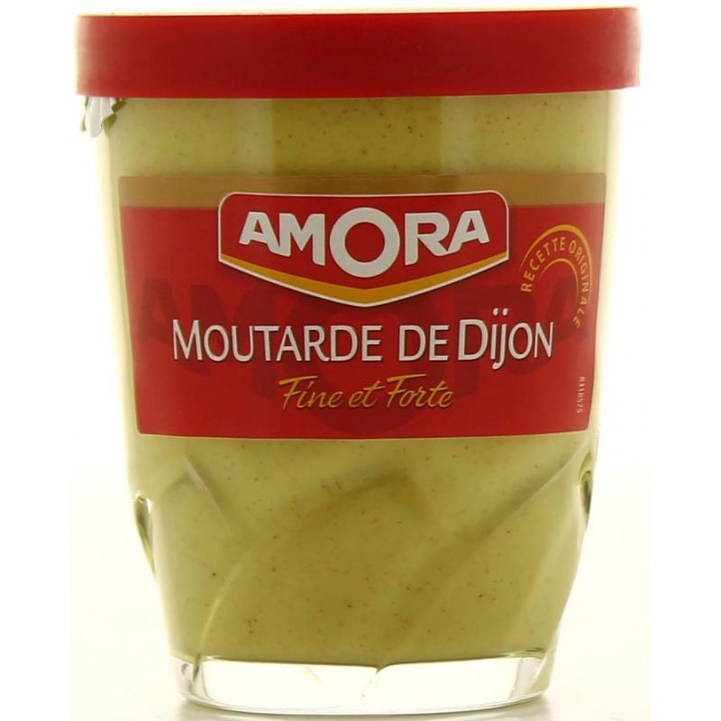 Moutarde De Dijon Fine Et Forte Amora 150g