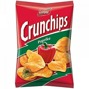 Chips Paprika Crunchips 175g