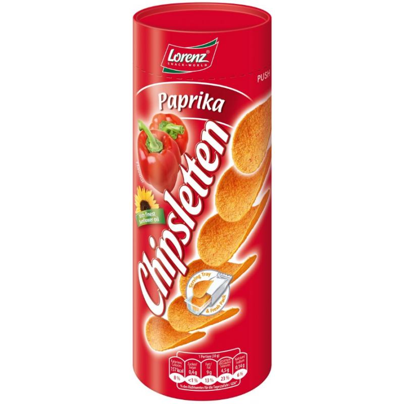 Chipsletten Paprika Lorenz 100g